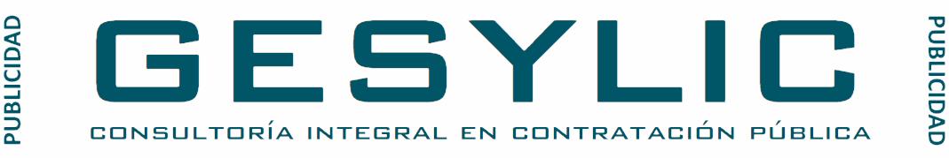 GESYLIC. Consultoría integral en contratación pública
