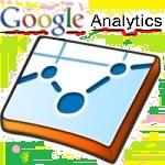 Google analytics logo. Contrato de obras. Tráfico del sitio.